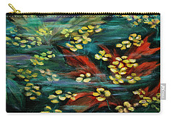 Carry-all Pouch featuring the painting Transforming... by Xueling Zou