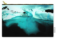 Carry-all Pouch featuring the photograph Transparent Iceberg by Amanda Stadther