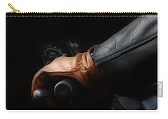 Leather Goes For A Ride Carry-all Pouch