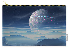 Tranus Alien Planet With Satellite Carry-all Pouch
