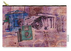 Travel Log Carry-all Pouch by Erika Weber