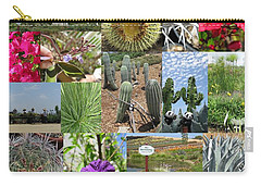Carry-all Pouch featuring the photograph Traveling Baby Pandas At The Plant Nursery. California. by Ausra Huntington nee Paulauskaite