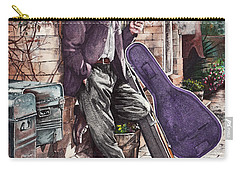 Travelling Man Carry-all Pouch