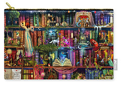 Fairytale Treasure Hunt Book Shelf Carry-all Pouch by Aimee Stewart