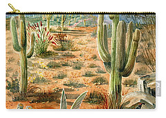 Treasures Of The Desert Carry-all Pouch