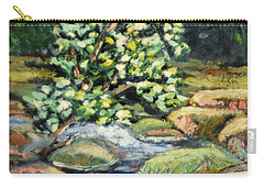 Tree And Stream Carry-all Pouch