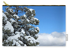 Tree At The Grand Canyon Carry-all Pouch by Laurel Powell