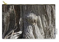 Tree Bark No. 3 Carry-all Pouch by Lynn Palmer
