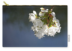 Carry-all Pouch featuring the photograph Tree Blossoms by Marilyn Wilson