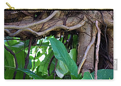 Carry-all Pouch featuring the photograph Tree Branch by Rafael Salazar