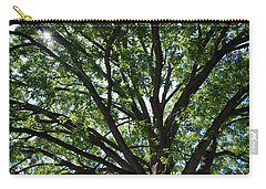 Tree Canopy Sunburst Carry-all Pouch