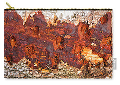 Tree Closeup - Wood Texture Carry-all Pouch by Matthias Hauser