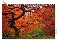 Tree Fire Carry-all Pouch by Darren  White