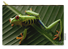 Tree Frog 16 Carry-all Pouch by Bob Christopher