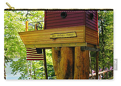 Tree House Boat Carry-all Pouch by Sherman Perry