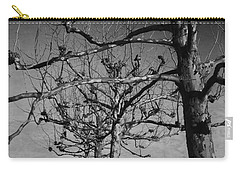 Tree In A Row  Carry-all Pouch by Andrea Anderegg