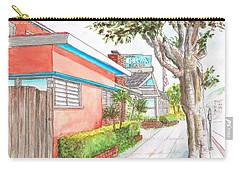 Tree In Laguna Riviera Hotel In Laguna Beach - California Carry-all Pouch by Carlos G Groppa