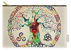 Tree Of Life Carry-all Pouch by Olga Hamilton