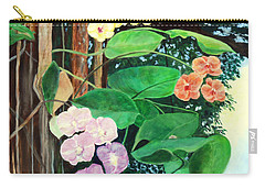 Tree Orchids Carry-all Pouch