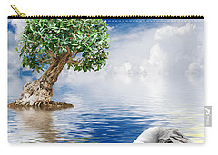 Tree Seagull And Sea Carry-all Pouch