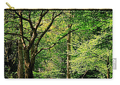 Carry-all Pouch featuring the photograph Tree Series 3 by Elf Evans