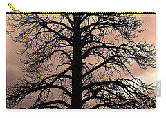 Tree Silhouette Carry-all Pouch by Laurel Powell