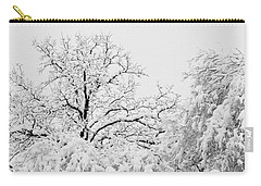 Tree Snow Carry-all Pouch