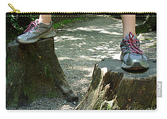 Tree Stump Stilts Carry-all Pouch by Kerri Mortenson