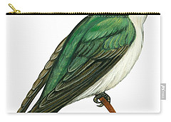 Tree Swallow  Carry-all Pouch by Anonymous