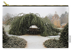 Tree Tunnel Carry-all Pouch by Karen Silvestri