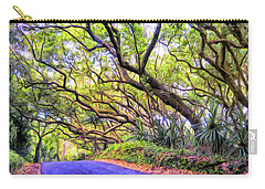 Tree Tunnel On The Big Island Carry-all Pouch