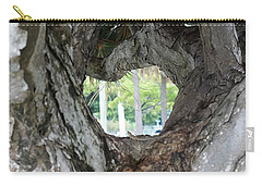 Carry-all Pouch featuring the photograph Tree View by Rafael Salazar