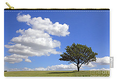 Tree With Clouds Carry-all Pouch
