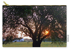 Tree With Fence. Carry-all Pouch