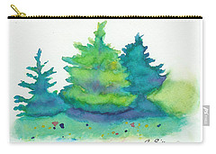Trees 2 Carry-all Pouch by C Sitton