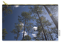Carry-all Pouch featuring the photograph Trees And Nature by Charles Beeler
