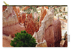 Carry-all Pouch featuring the photograph Tree's Eye View by Meghan at FireBonnet Art