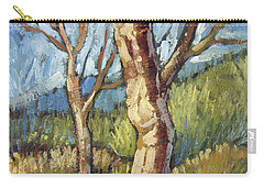 Trees In Spring Carry-all Pouch