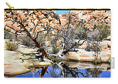 Trees In The Barker Dam Carry-all Pouch