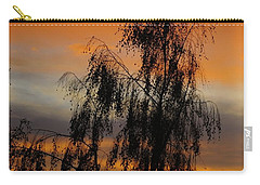 Trees In The Sunset Carry-all Pouch