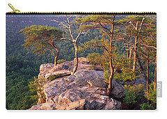 Trees On A Mountain, Buzzards Roost Carry-all Pouch