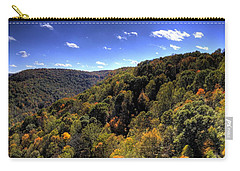 Trees Over Rolling Hills Carry-all Pouch