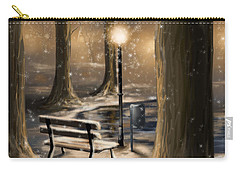 Trees Carry-all Pouch by Veronica Minozzi
