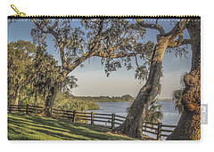 Carry-all Pouch featuring the photograph Trees With A View by Jane Luxton