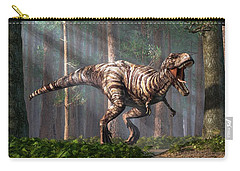 Trex In The Forest Carry-all Pouch