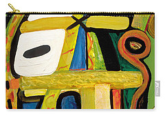 Tribal Mood Carry-all Pouch by Stephen Lucas