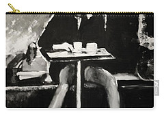 Tribute To Helmut Newton Carry-all Pouch