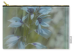Carry-all Pouch featuring the photograph Tricia by Elaine Teague