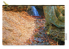 Trickling Waterfall By Shellhammer Carry-all Pouch