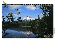 Trillium Lake With Mt. Hood  Carry-all Pouch